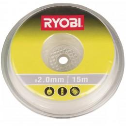 Леска для триммера Ryobi RAC102 2 мм 15 м белая (5132002639)