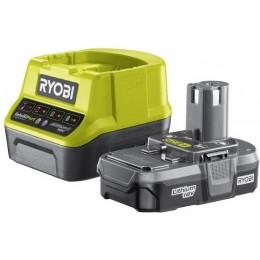Аккумулятор и зарядное устройство Ryobi ONE + RC18120-113 (5133003354)
