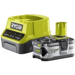 Аккумулятор и зарядное устройство Ryobi ONE+ RC18120-150 (5133003366)