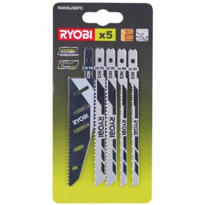 Набор полотен для лобзика Ryobi RAK05JSBFC (5132002697) 90.00 грн