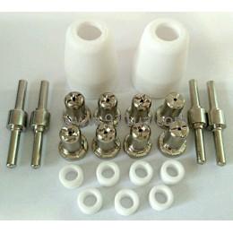 PT-31 (CUT 40) Набор плазменной резки  - 21 предмет - хром, , 379.00 грн, pt-31, Jasic, Расходные материалы для плазменной резки