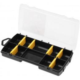 Органайзер Stanley пластмассовый, 210х115х35 мм, с 10-тью отсеками и переставными перегородками (STST81679-1) 138.00 грн
