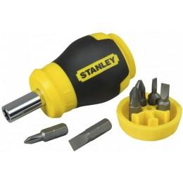Отвертка - набор STANLEY Multibit Stubby 6 бит (0-66-357) 131.00 грн