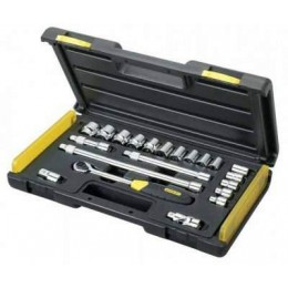 Набор торцевых головок Stanley MicroTough 7-24 мм + держатель 21 предмет (2-85-583) 2253.00 грн