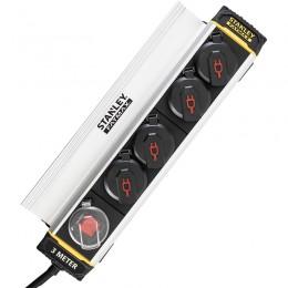 Сетевой фильтр Stanley Fatmax SXECCH2LAFE 3 м, 4 розетки 2399.00 грн