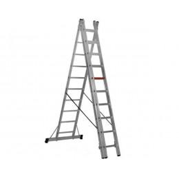 Трехсекционная лестница-стремянка VIRASTAR 3x10 (TS190), , 4382.56 грн, Трехсекционная лестница-стремянка VIRASTAR 3x10 (TS190), VIRASTAR, Лестницы, стремянки, подмости