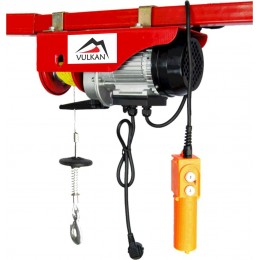 Таль электрическая Vulkan 600/1200 кг, 1,6 кВт (92257) 6267.00 грн