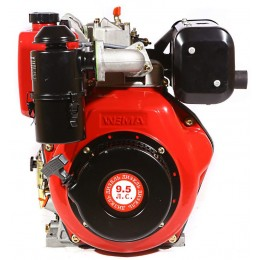 Дизельный двигатель Weima WM186FB (вал шлицы) (21003) , , 9006.00 грн, WM186FB , Weima, Двигатели