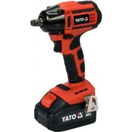 Аккумуляторный бесщеточный гайковерт Yato YT-82802 4095.00 грн