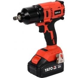 Аккумуляторный бесщеточный гайковерт Yato YT-82806 5990.00 грн