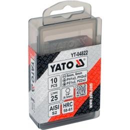 Набор насадок отверточных YATO YT-04822