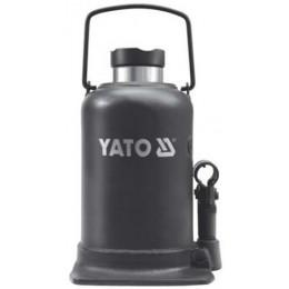 Домкрат гидравлический бутылочный Yato 10 т 220х483 мм (YT-1704)