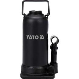 Домкрат гидравлический бутылочный Yato 12 т 230х505 мм (YT-17045)