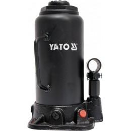Домкрат гидравлический бутылочный Yato 15 т 230х462 мм (YT-17006) 1428.00 грн