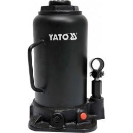 Домкрат гидравлический бутылочный Yato 20 т 242х452 мм (YT-17007) 1759.00 грн