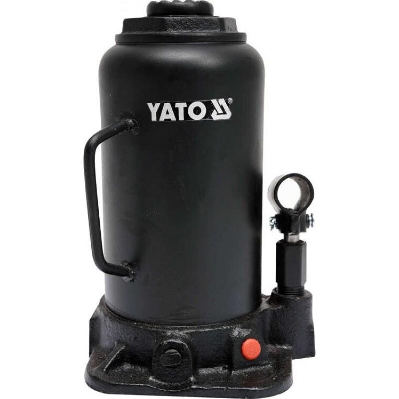 Домкрат гидравлический бутылочный Yato 20 т 242х452 мм (YT-17007) 2320.00 грн