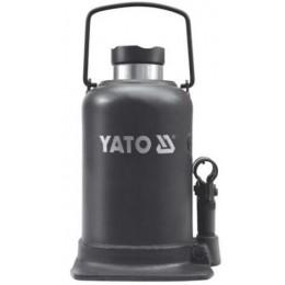 Домкрат гидравлический бутылочный Yato 30 т 244х492 мм (YT-1709)