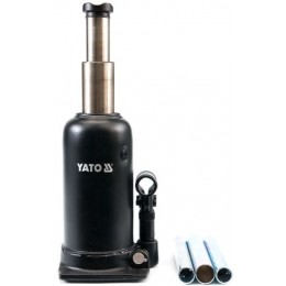 Домкрат гидравлический бутылочный Yato 5 т 220х500 мм (YT-1711)