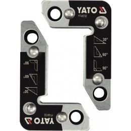 Уголки магнитные Yato 25 кг, 2 шт. (YT-08722) 525.00 грн