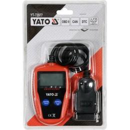 Тестер диагностический Yato OBD2 автомобиля с LCD-дисплеем (YT-72977) 1085.00 грн
