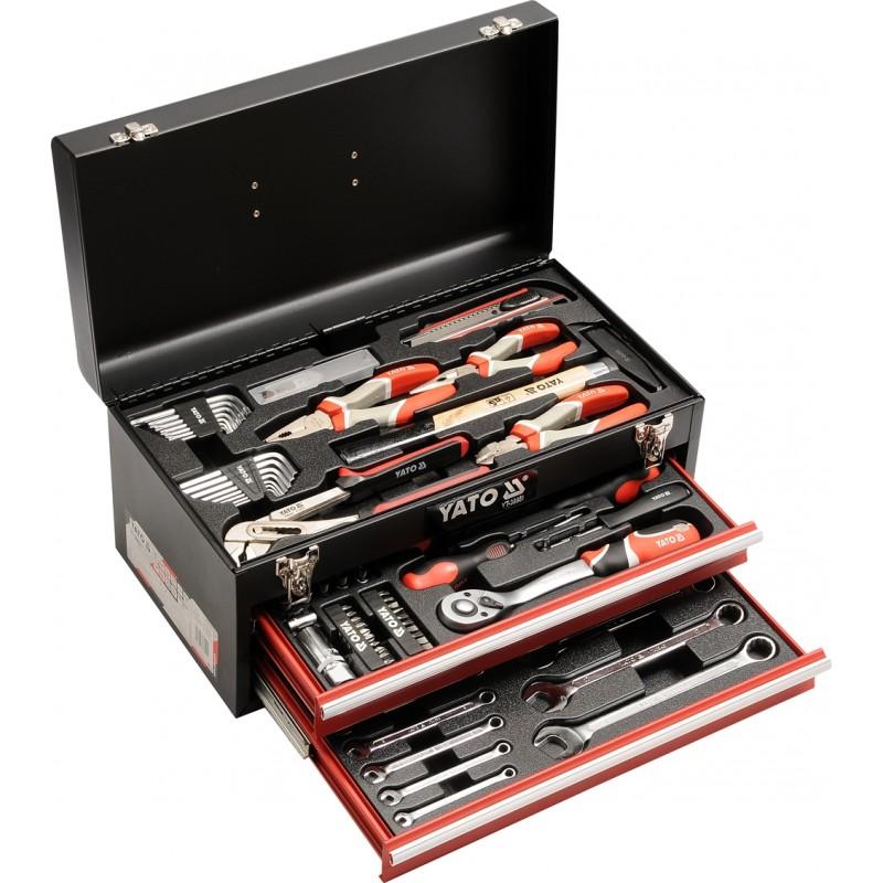 Ящик с набором инструментов Yato YT-38951 3361.00 грн