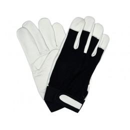 Перчатки Yato бело-черные