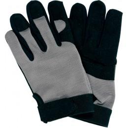 Перчатки Yato черно-серые