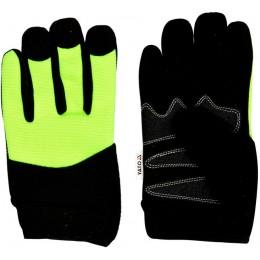 Перчатки Yato черно-желтые