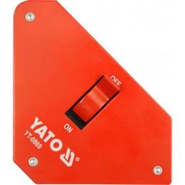 Магнитная струбцина для сварки Yato 117х192х32 мм (YT-0869)
