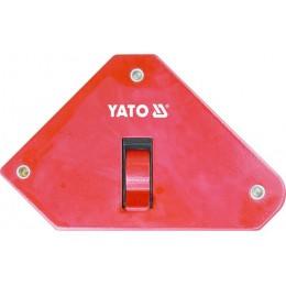 Магнитная струбцина для сварки Yato 85х139х25 мм (YT-0868)
