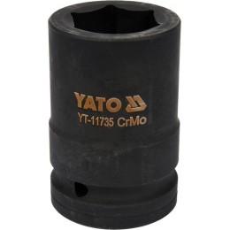 Головка торцевая ударная Yato Cr-Mo 32х80 мм, 6-гранная (YT-11735) 311.00 грн