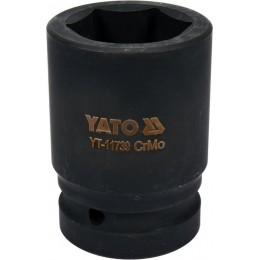 Головка торцевая ударная Yato Cr-Mo 38х80 мм, 6-гранная (YT-11739) 342.00 грн