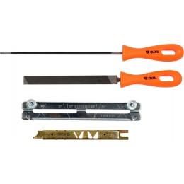 Средство для заточки отрезных цепей с напильником Yato 4 мм, 4 шт (YT-85040)